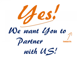 Yes We want you to partner with us